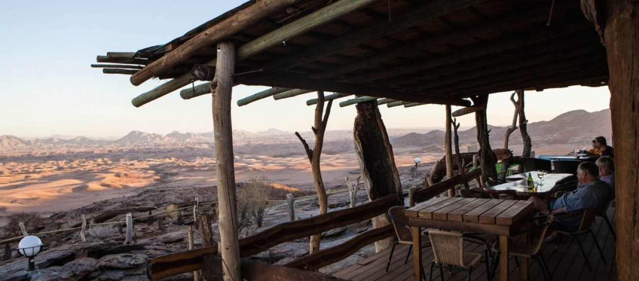 Namib´s Valley of a thousand Hills Lodge