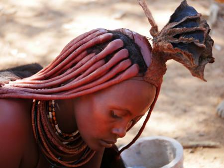 Besuche die Himbas