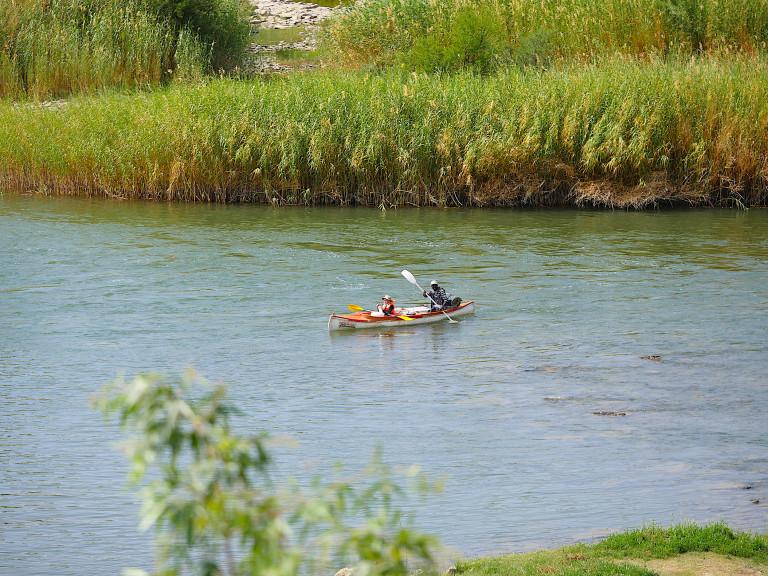 Kanu Touren (Oranje Fluss)
