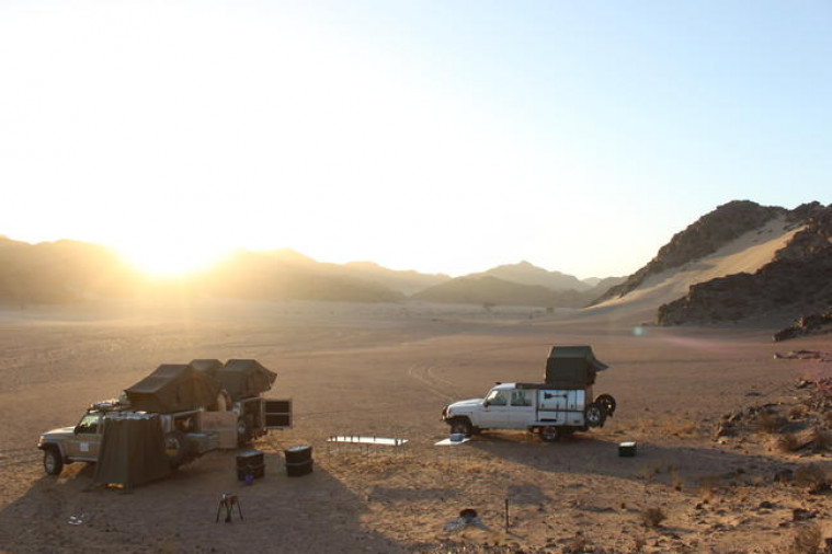 Hoanib River Wild Camp