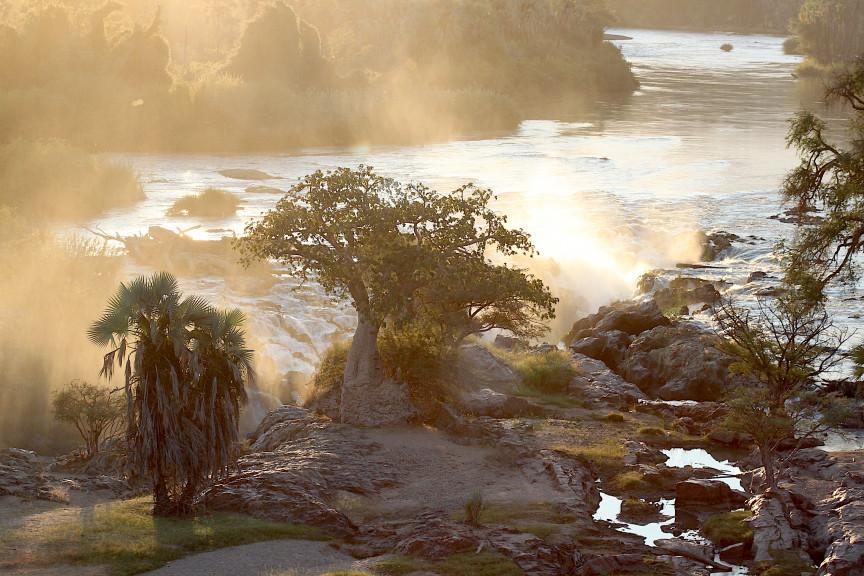 Epupa Waterfalls and the Kunene River
