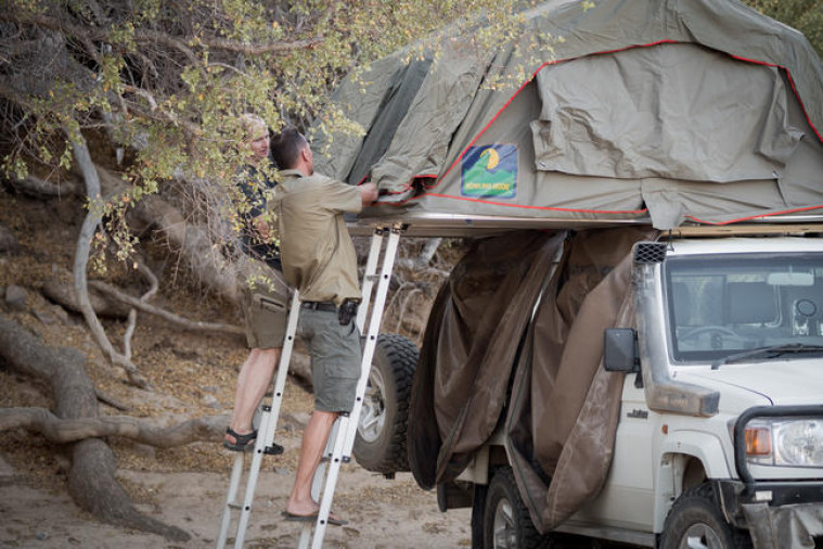 Khumib river wild camping