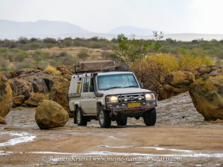 Geführte Kaokoland Camping & Lodge Tour 2021